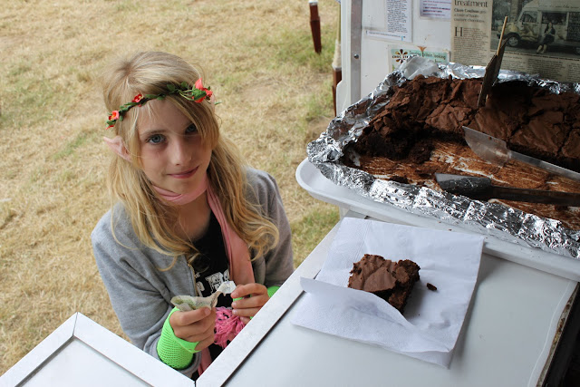 customer at choc star, camp bestival
