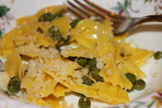 dish at Luisa, caesarina, supper club, Bologna, Italy