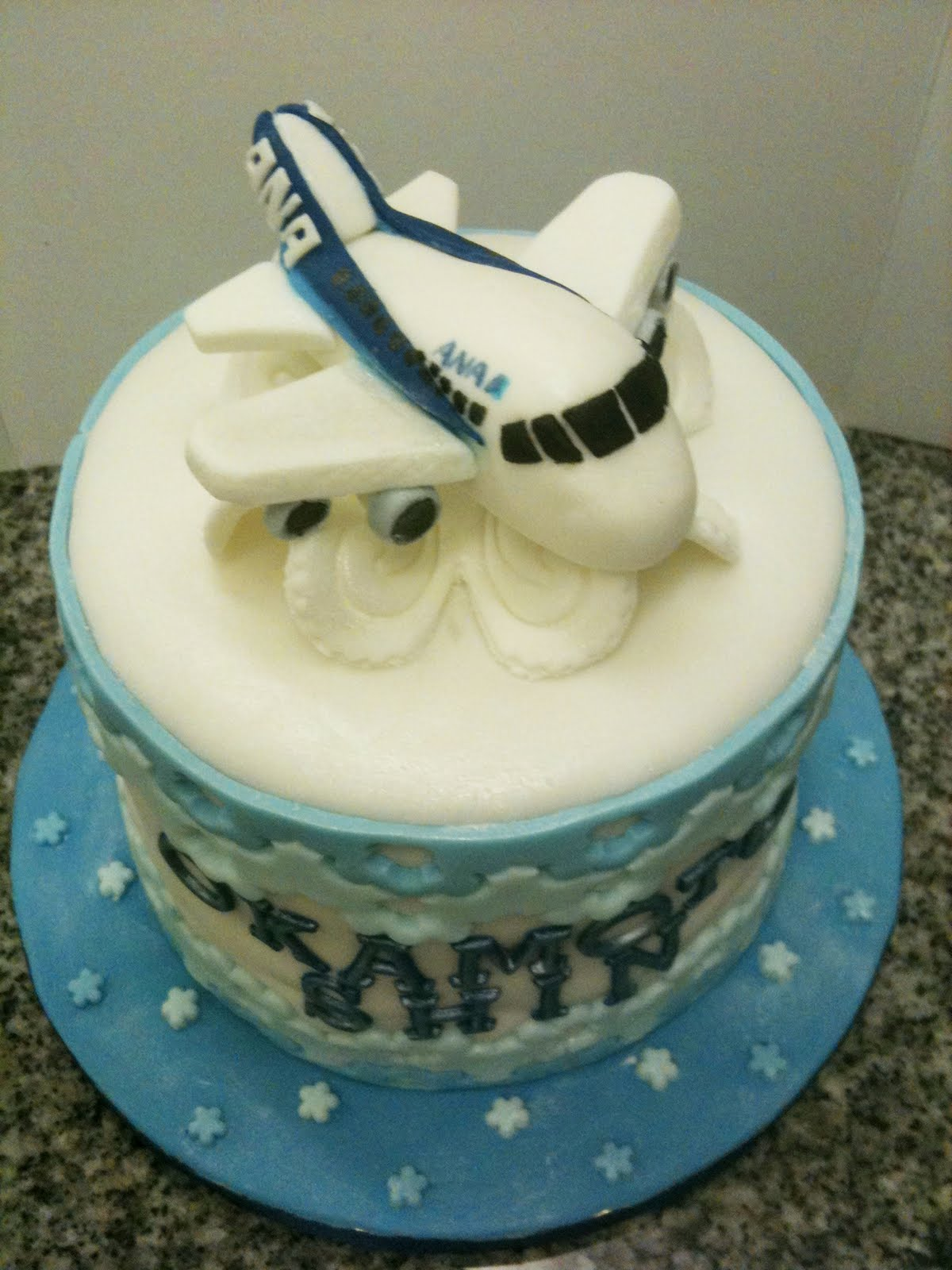 Sweet April The Story Of April Airplane Cake