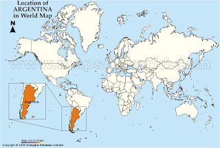 St Blog Eva Location Of Argentina In The World - Argentina map and location