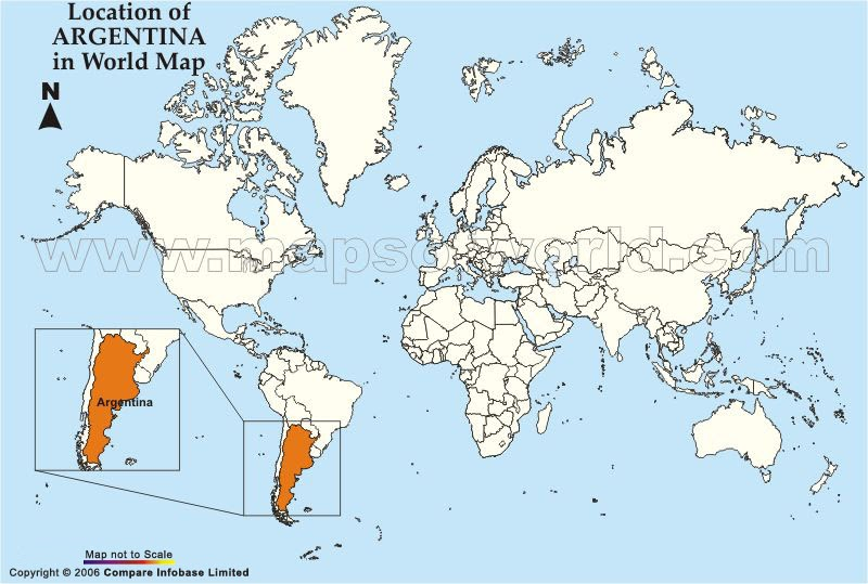 St Blog Eva Location Of Argentina In The World - Argentina map world
