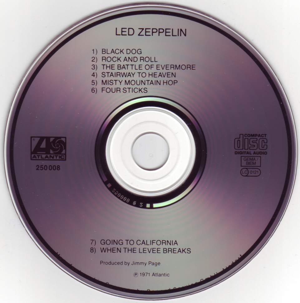 Musicotherapia Led Zeppelin Iv