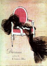 vintage Christian Dior ad