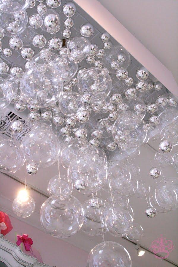 DIY Bubble Chandelier | POPSUGAR Home