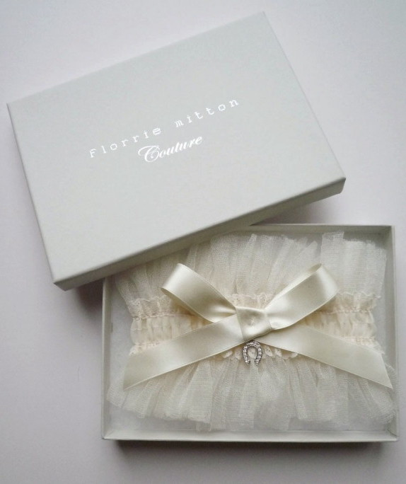 Couture Garters For Wedding: Florrie Mitton Couture Garters