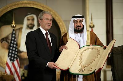 U.S. President George W. Bush
