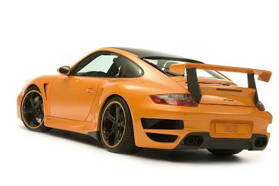 TechArt GTstreet based on the Porsche 911 Turbo