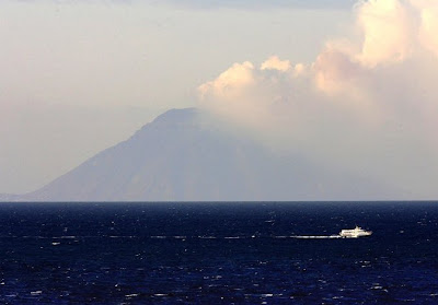 Italia Stromboli volcano