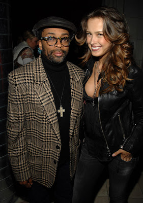 photo Spike Lee and Petra Nemcova
