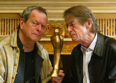 photo Terry Gilliam and John Hurt