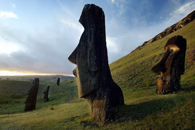 Statues of Easter Island, Easter Island, Chile