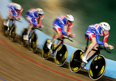 British team - UCI Track Cycling World Cup