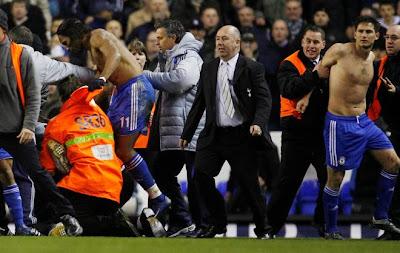 Fan Attacks Frank Lampard After Chelsea Win