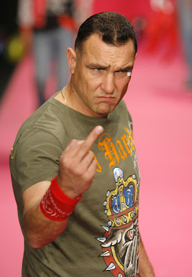 Vinnie Jones wearing Ed Hardy