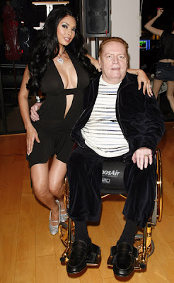 Larry Flint and Tera Patrick