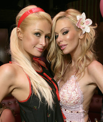 Paris Hilton and Jenna Jameson