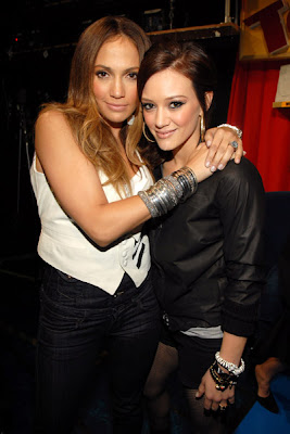 Jennifer Lopez and Hilary Duff