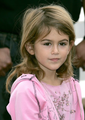 Kaya Gerber. Cindy Crawford's Daughter
