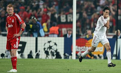 Milan Liverpool, 2:1