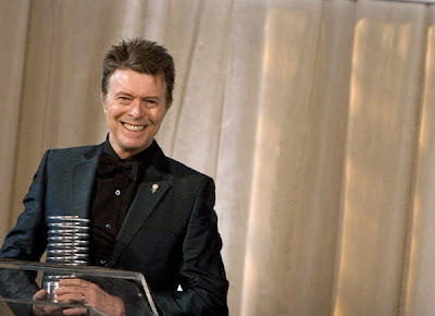 David Bowie. 11th Annual Webby Awards, New York