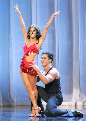 Eva Longoria and Mario Lopez. 2007 NCLR ALMA Awards, Pasadena