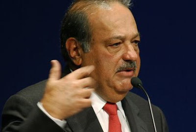 The richest man on the world is Carlos Slim Helu