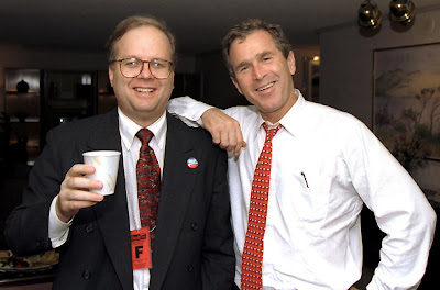 Karl Rove & George W. Bush