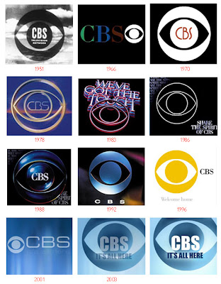 CBS - Evolution of Logos & Brand