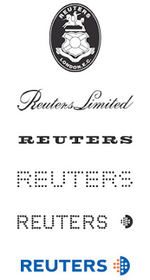 Reuters - Evolution of Logos & Brand