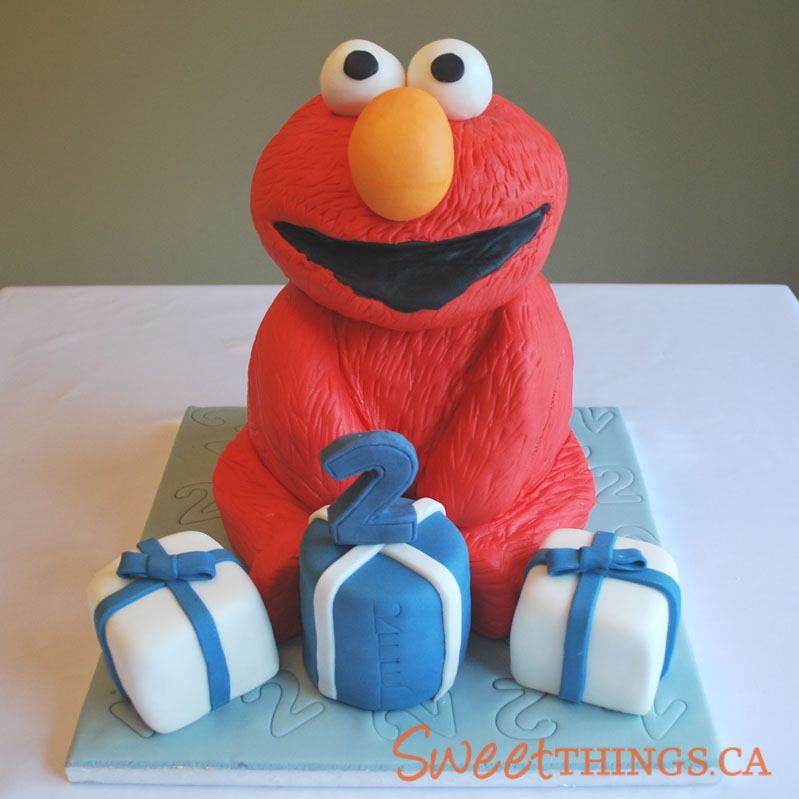 2nd Birthday Elmo Cakes