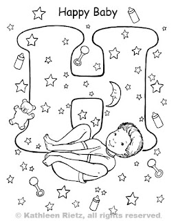 yoga coloring pages for kids - photo#12