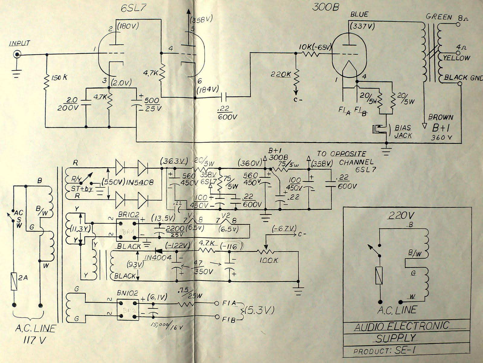hight resolution of doctorjohn cheaptubeaudio audio reviews and more aes se 1 schematic and info