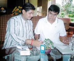 Dr. Sunil Jogi with Jagjeet Singh