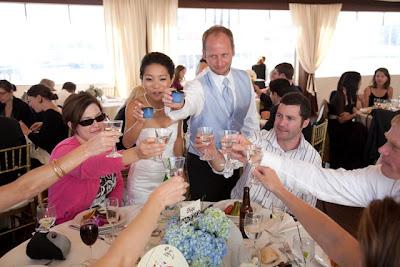 International Wedding, American and Japanese Wedding