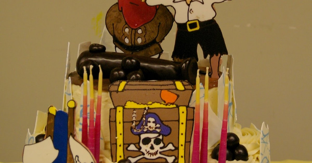 Girl Pirate Cake Ideas