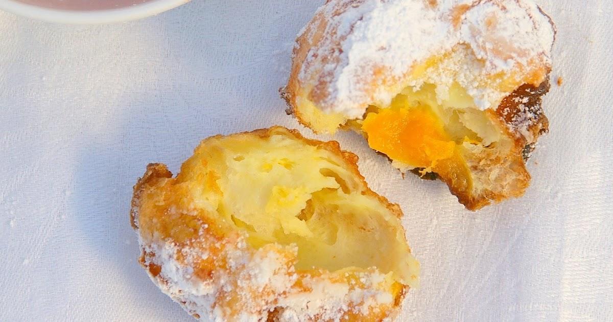 Gourmet Girl: Brandied Apricot Beignets