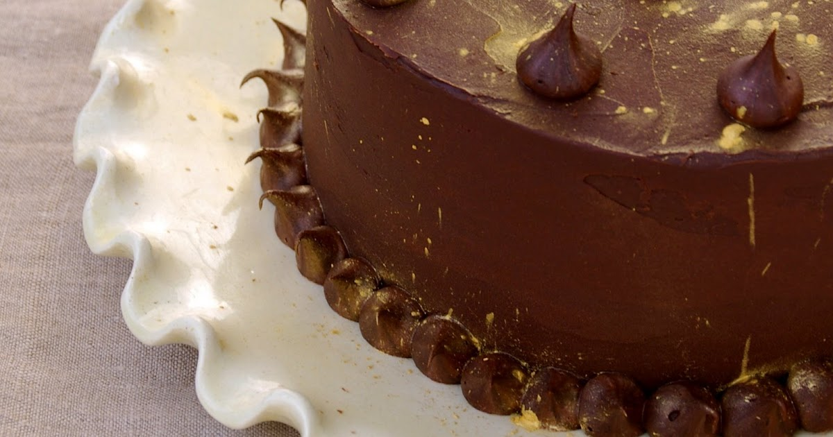 Chocolate Mayonnaise Cake Peanut Butter Frosting