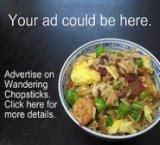 Wandering Chopsticks Small Ad