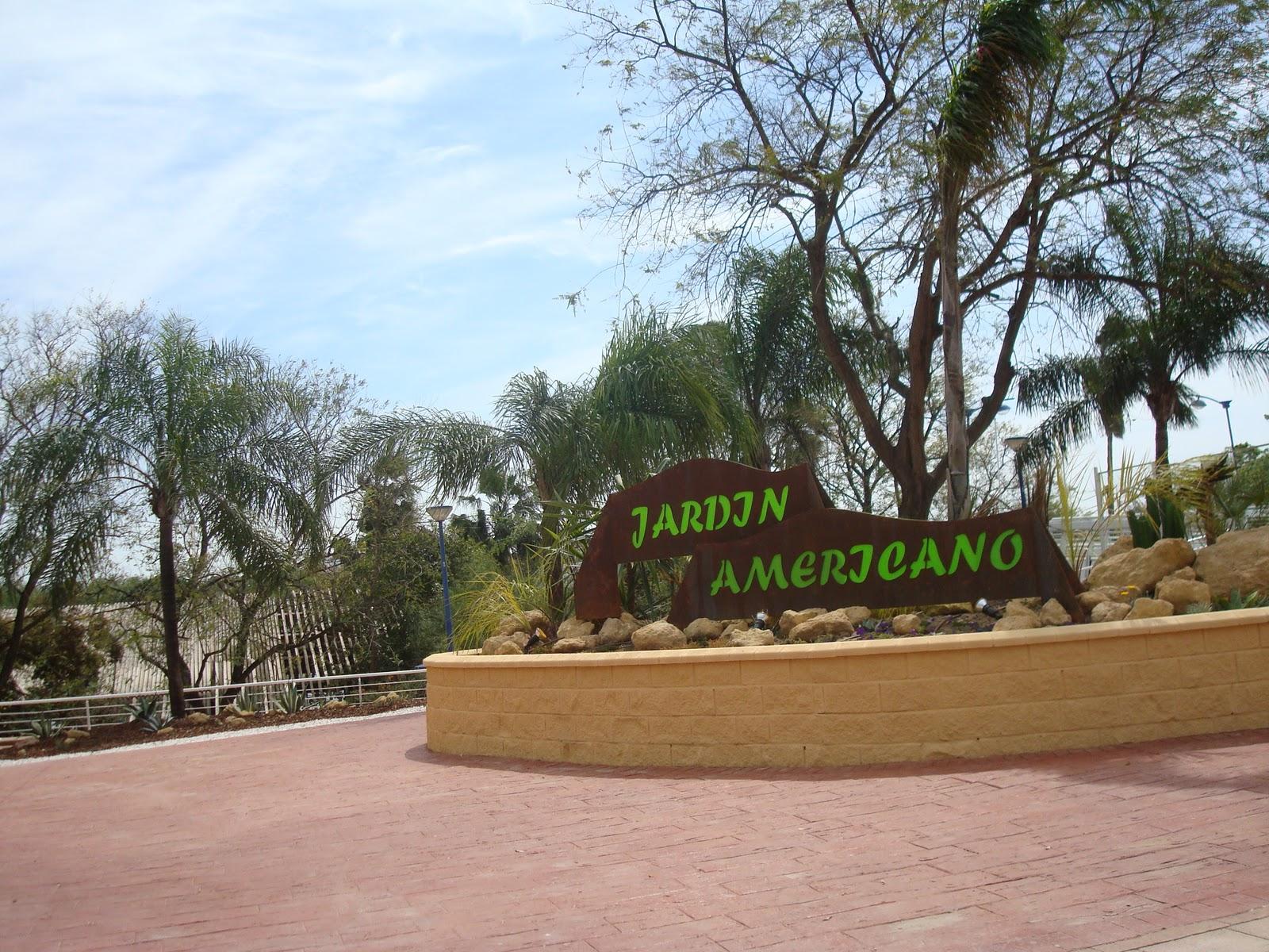 Encinarosa elarbolmiamigo 30 10 2010 visita al jard n for Jardin americano sevilla
