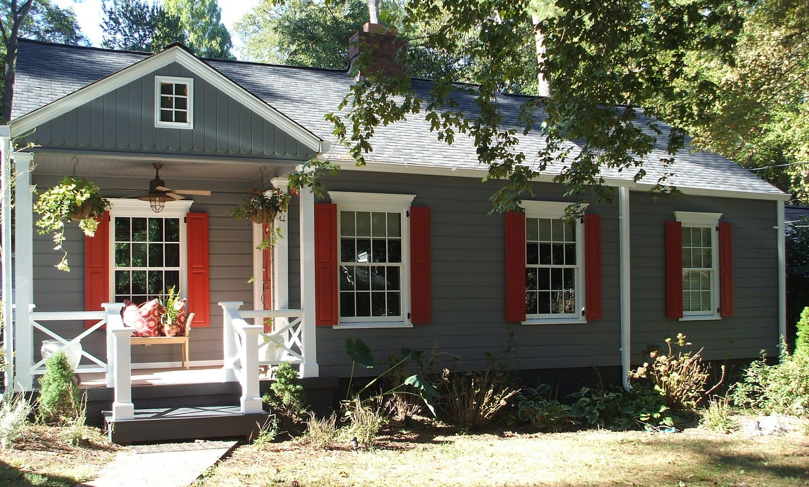 Duchess Fare: Our House Gets A Fresh Coat Of Paint