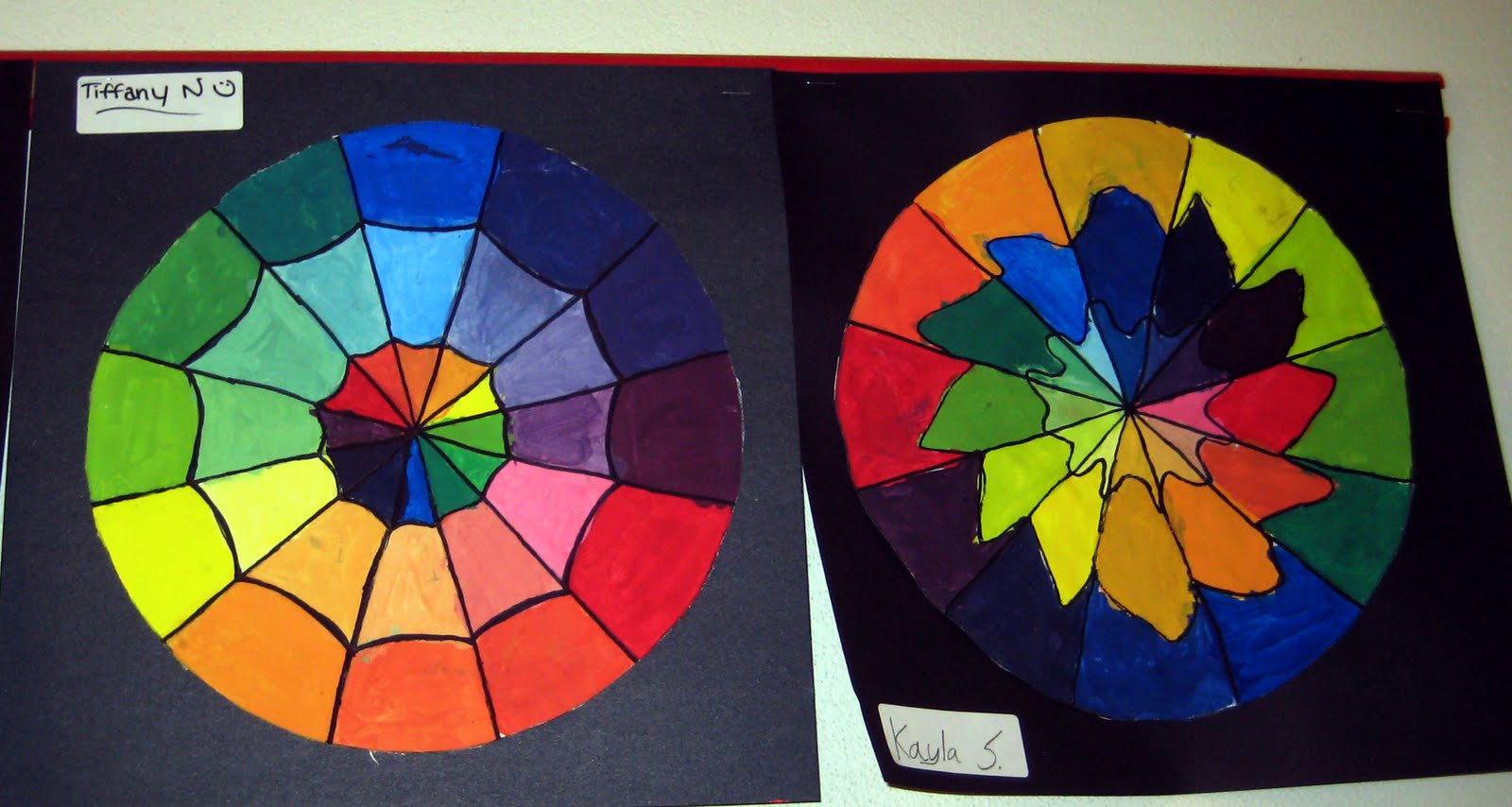 Have The Kids Do All Parent Colors First I Want To Practice Their Color Mixing So They Remake In Following Classes