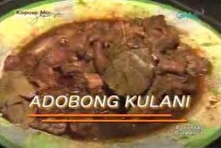 Adobong Kulani