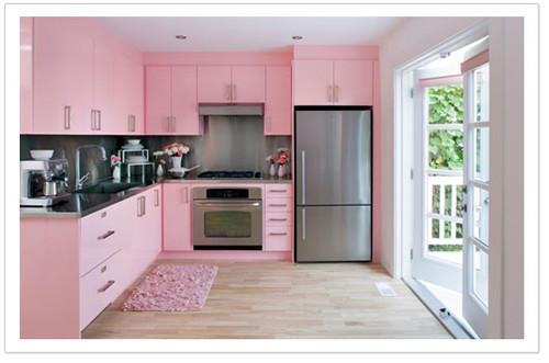 But I Do Not Have Even One Pink Room In The House Think Will Get If Ever A Baby Though Some People Kitchens