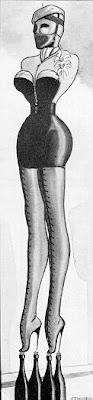 Bondage corset venus
