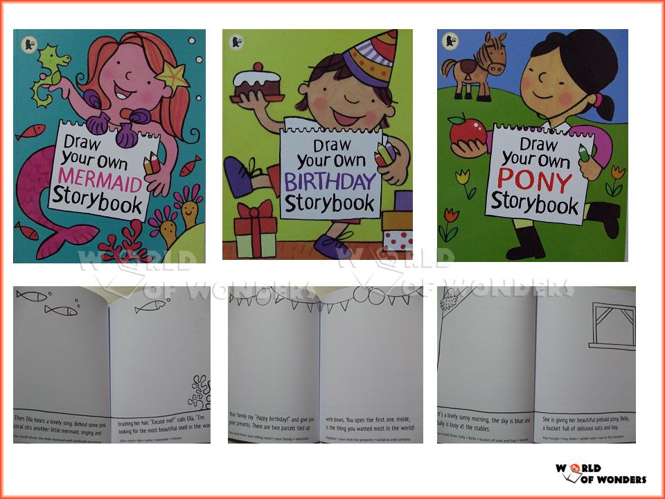 world of wonders draw your own storybook collection