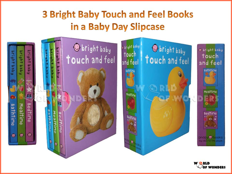 World Of Wonders Bright Baby Touch And Feel Baby Day