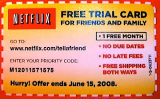 netflix one month free trial