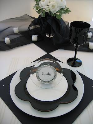 Black Tie Tablescape Oh My Creative