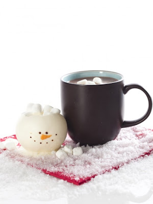 Chocolate Snowman Cups