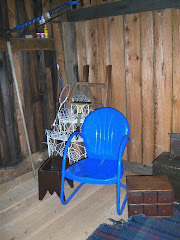 The empty chair. Who once sat?